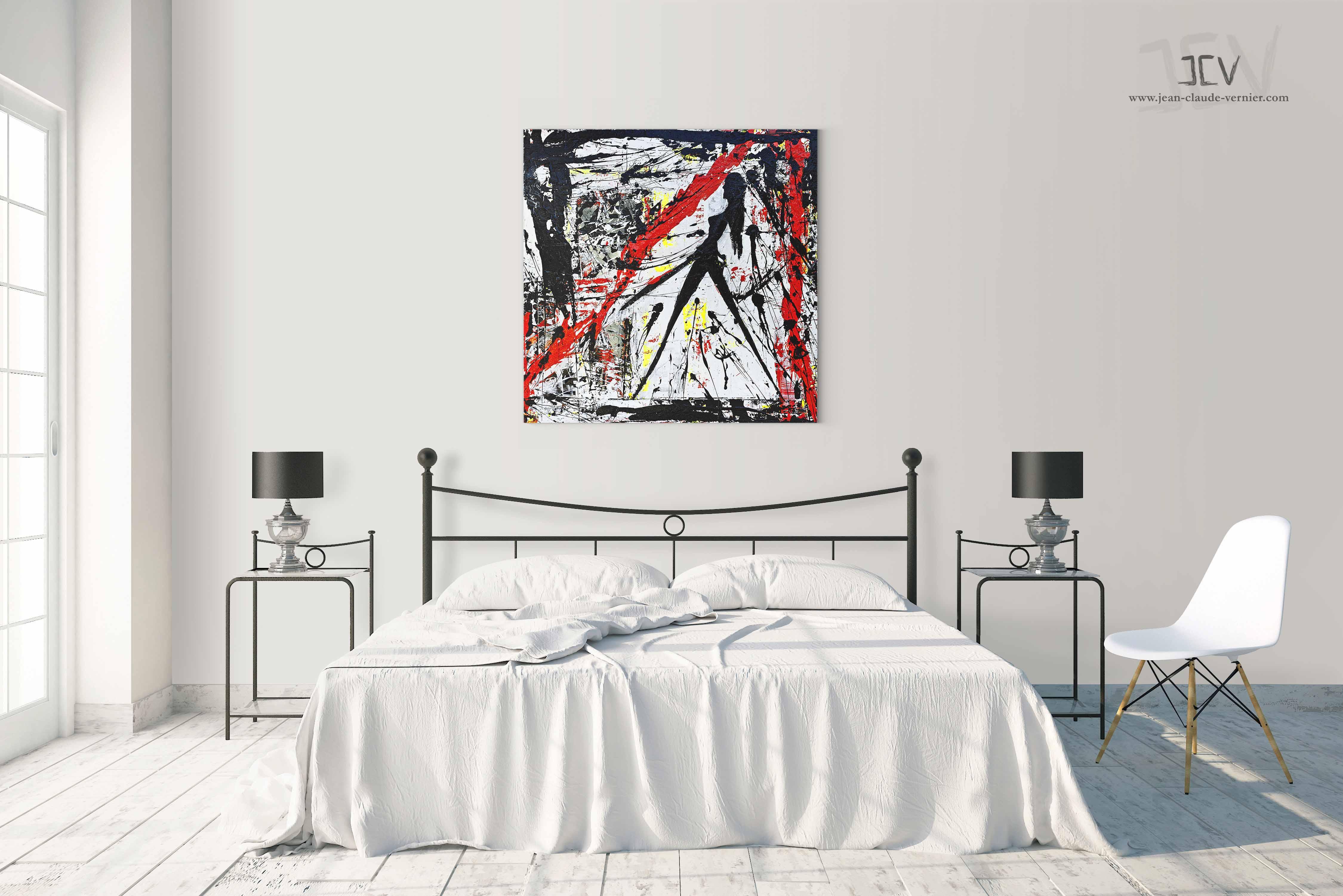 Tableau et peinture abstrait en vente sur jean-claude-vernier.com