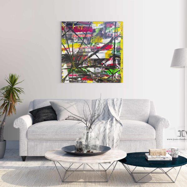 Acheter un tableau abstrait contemprain