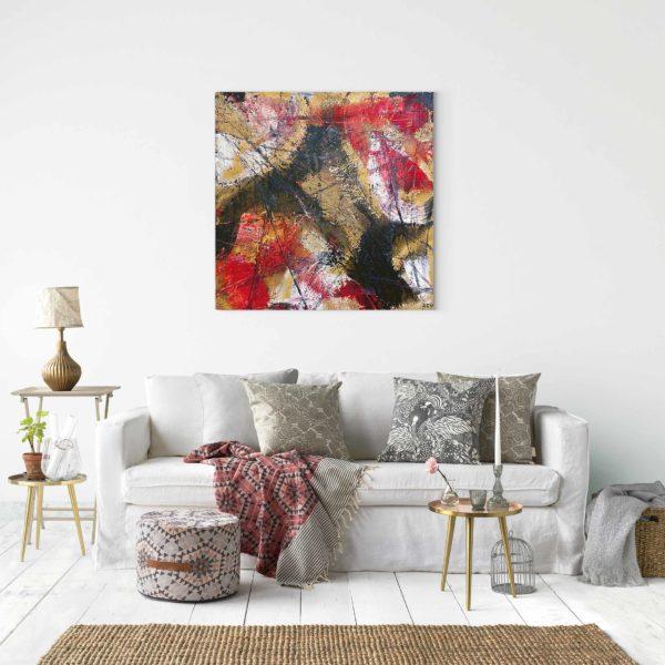 Acheter un tableau abstrait et design sur internet
