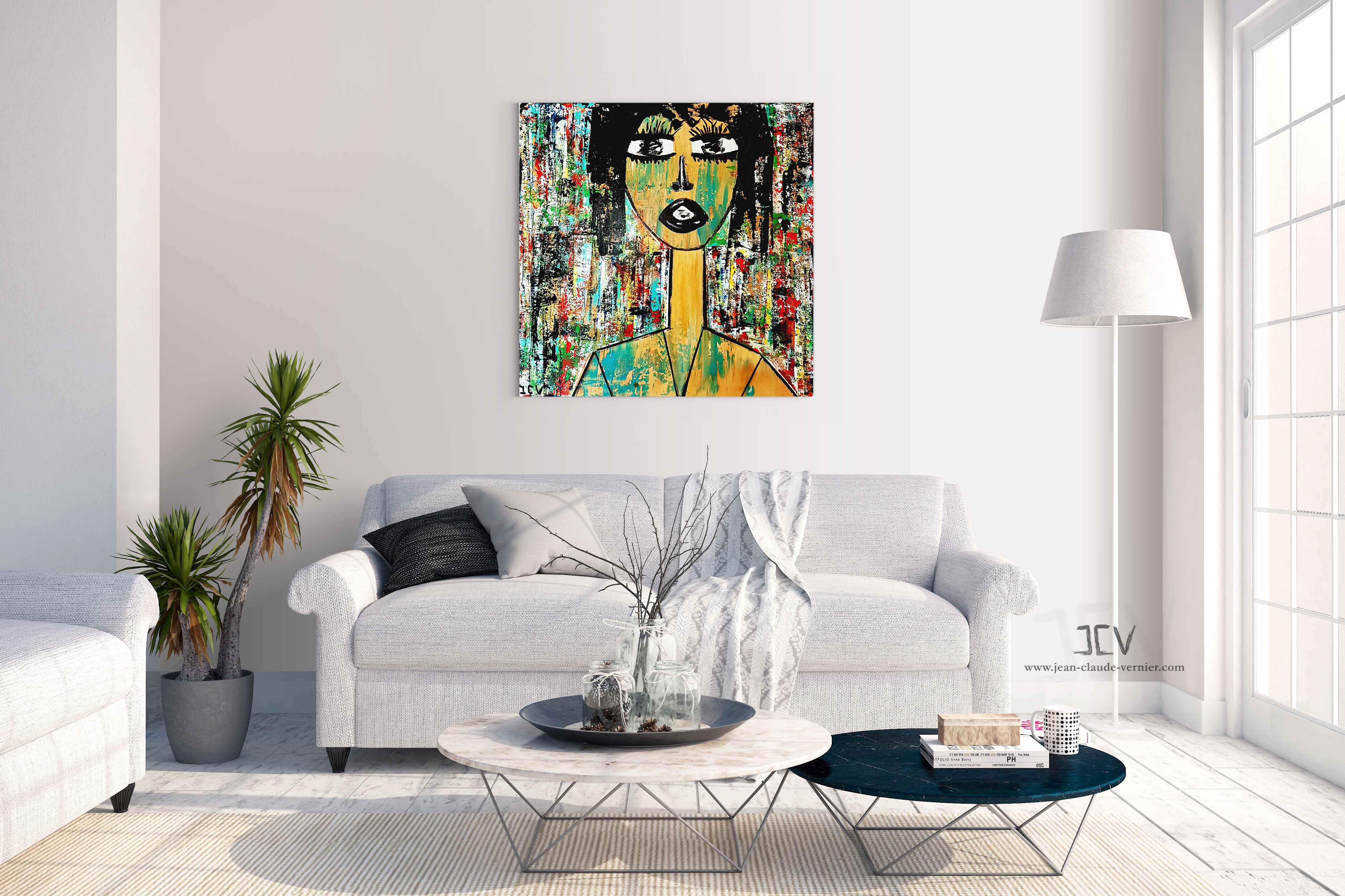 Ella, le tableau abstrait et moderne pour votre déco !
