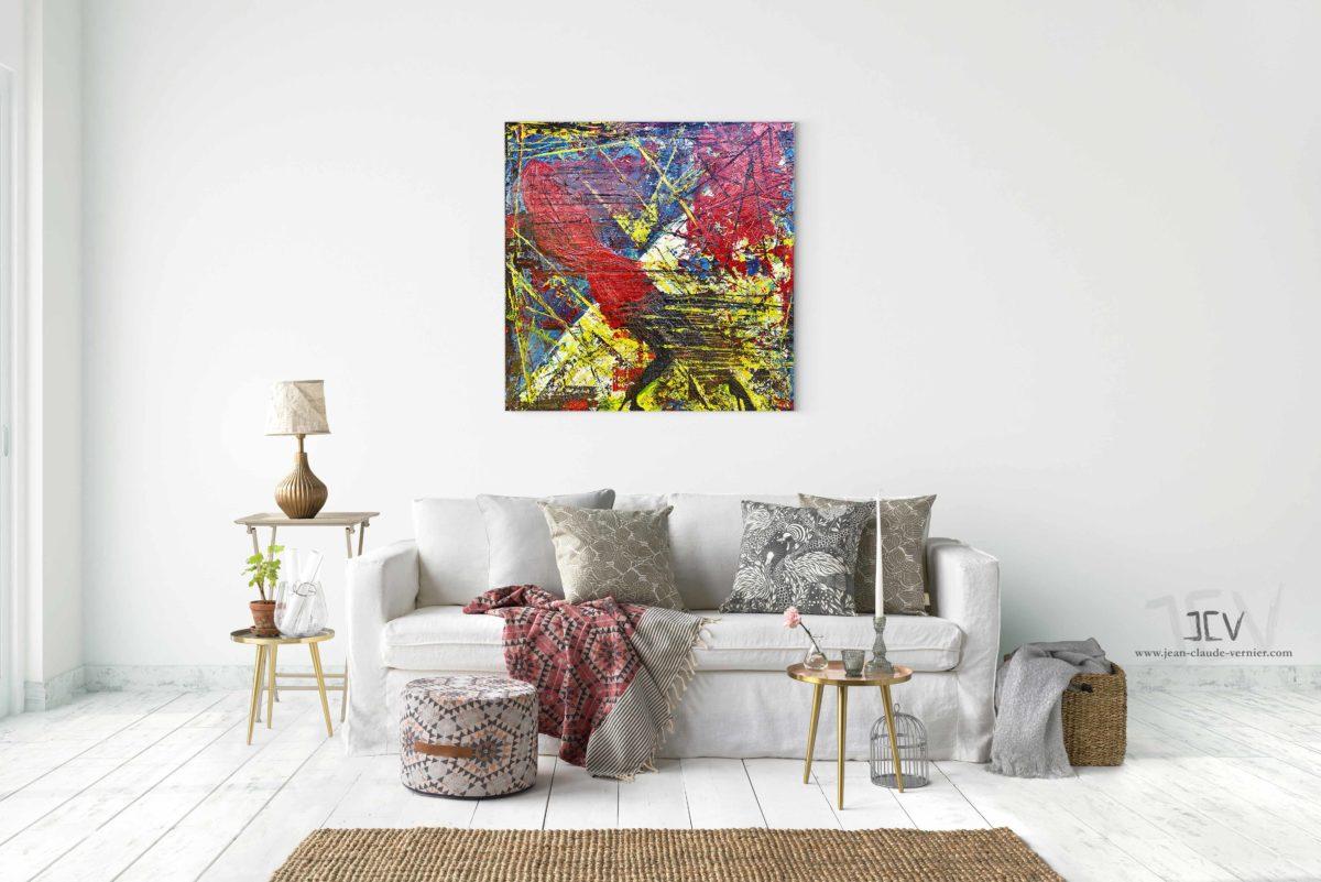Acheter une peinture abstraite