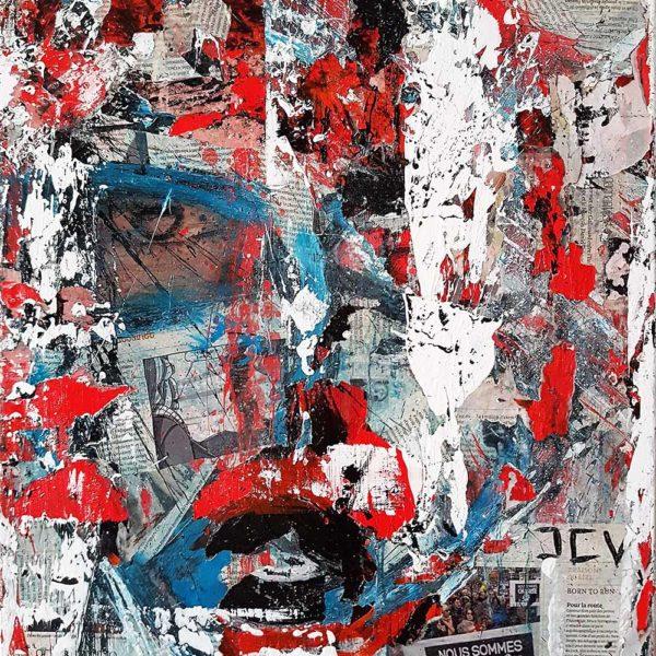 Acheter un tableau abstrait de la liberté de la presse