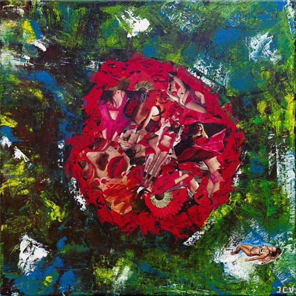Acheter une peinture contemporaine de Jean Claude Vernier