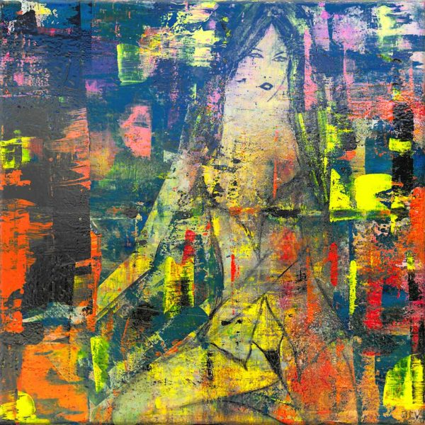 Acheter sexy girl, un tableau de l'artiste peintre contemporian JCV