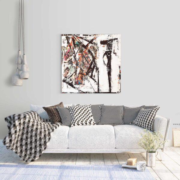 Acheter Silhouette, une peinture contemporaine