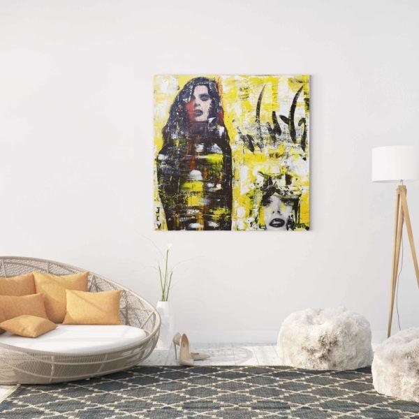 Acheter Why, un tableau design de l'artiste peintre contemporain Jean Claude Vernier