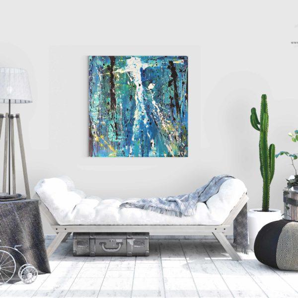 Tableau et peinture contemporaine de la galerie d'art en ligne de Jean Claude Vernier JCV