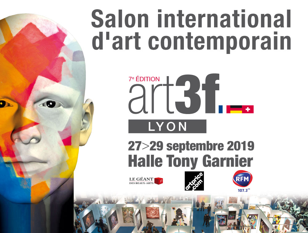 Jean Claude Vernier sera présent au salon international d'art contemporain artf3