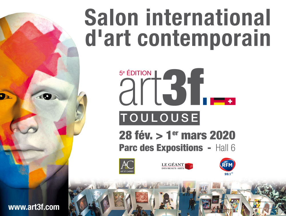 Artf3 salon art contemporain toulouse