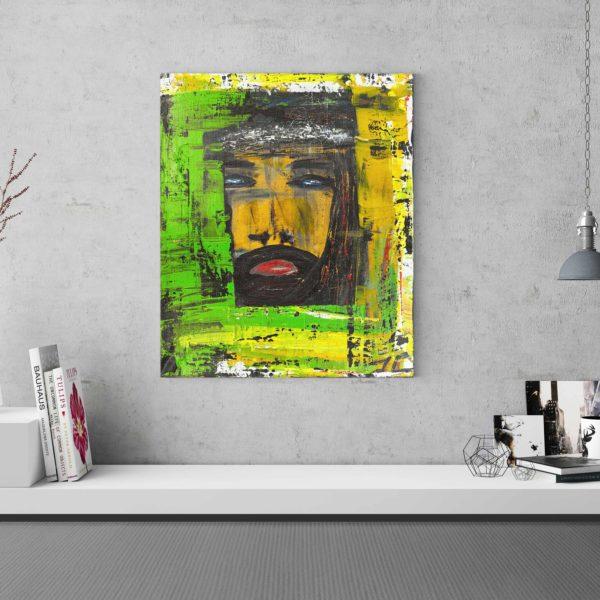 JC By JC est une toile moderne contemporaine