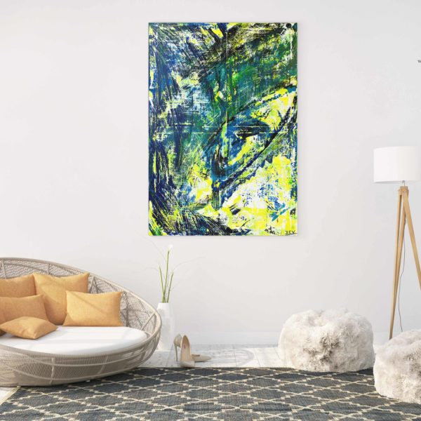 Oeil de Cyclone ets un tableau moderne et design